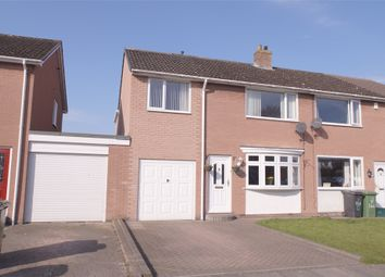 Thumbnail 4 bed semi-detached house for sale in Holmrook Road, Belle Vue South, Carlisle, Cumbria