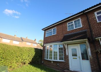 Thumbnail 2 bed end terrace house to rent in Long Mead, Houghton Regis, Dunstable
