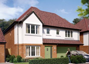"Thumbnail 4 bed detached house for sale in ""The Westbury"" at Boughton Road, Moulton, Northampton"