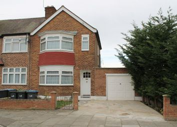Thumbnail 3 bedroom end terrace house for sale in Exeter Road, Ponders End, Enfield
