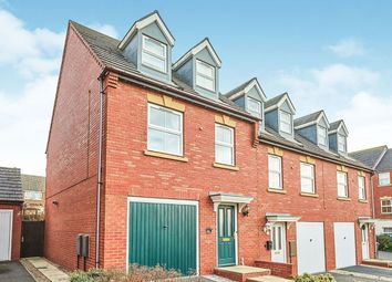 Thumbnail 3 bed terraced house for sale in Woodyard Close, Castle Gresley, Swadlincote