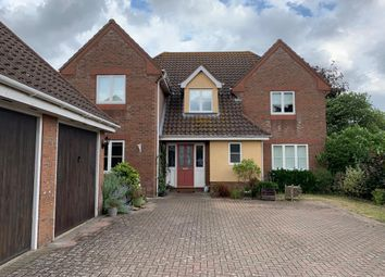 Thumbnail 4 bed detached house for sale in Bures Road, Great Cornard, Sudbury