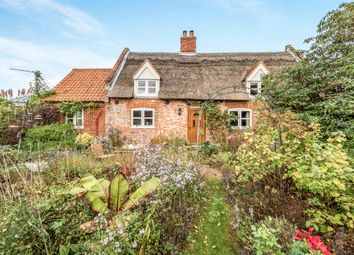 Thumbnail 3 bed cottage for sale in Tower Road, Repps With Bastwick, Great Yarmouth