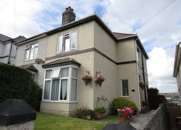 Thumbnail 3 bed semi-detached house for sale in Merafield Road, Plympton, Plymouth