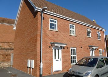 Thumbnail 2 bed semi-detached house to rent in Horsepond Lane, Bridgwater