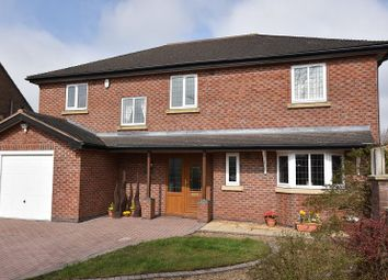 Thumbnail 4 bed detached house for sale in Crackley Toll, The Highlands, Leycett, Newcastle