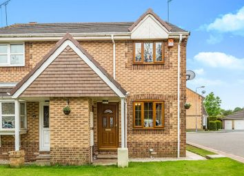 Thumbnail 2 bedroom semi-detached house for sale in Brooksfield, South Kirkby, Pontefract