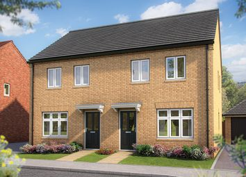 "Thumbnail 2 bed terraced house for sale in ""The Holly"" at Irthlingborough Road, Wellingborough"