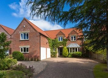 Thumbnail 5 bed detached house for sale in Oak Tree Way, Strensall, York