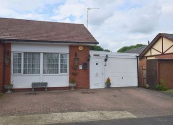 Thumbnail 3 bedroom semi-detached bungalow for sale in Darnel Close, Beanhill, Milton Keynes