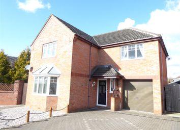 Potters Croft, Newhall, Swadlincote DE11. 4 bed detached house for sale