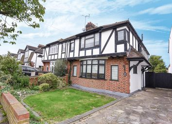 Thumbnail 3 bed semi-detached house for sale in Springfield Gardens, Upminster