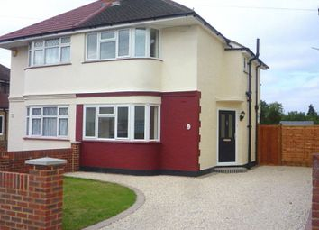 Thumbnail 3 bed semi-detached house to rent in Welwyn Avenue, Feltham