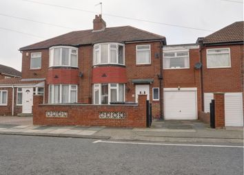 Thumbnail 3 bed semi-detached house for sale in Thornley Road, East Denton, Newcastle Upon Tyne