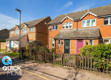 Thumbnail 3 bed semi-detached house for sale in Queens Road, Royston