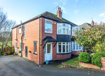 Thumbnail 4 bed semi-detached house for sale in Chelwood Avenue, Leeds, West Yorkshire