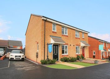 Thumbnail 3 bed semi-detached house for sale in Knowles View, Talke, Staffordshire