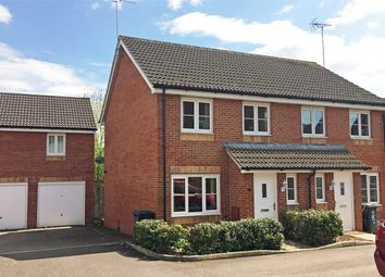 Thumbnail 3 bed semi-detached house for sale in The Forge, Off Horseshoe Way, Hempsted, Gloucester
