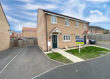 Thumbnail 3 bed semi-detached house for sale in Kilbride Way, Peterborough