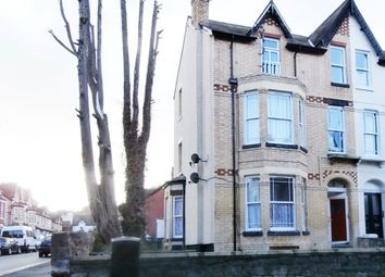 Thumbnail 2 bed flat to rent in Greenfield Road, Colwyn Bay