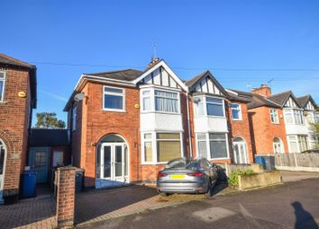 Thumbnail 3 bed semi-detached house for sale in Abbey Road, West Bridgford, Nottingham