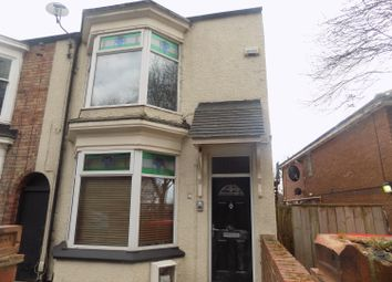 Thumbnail 1 bed flat to rent in Burlam Road, Linthorpe, Middlesbrough