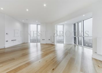 Thumbnail 3 bed flat for sale in Skyview Tower, Capital Towers, Stratford