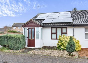 Thumbnail 2 bedroom semi-detached bungalow for sale in Wigg Road, Fakenham