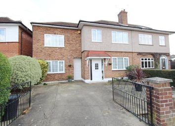 Thumbnail 3 bed semi-detached house for sale in Dale Drive, Hayes, Middlesex UB4 8Au