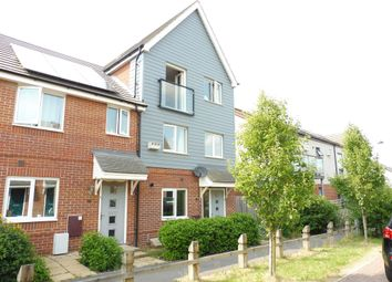 Thumbnail 4 bedroom town house for sale in Vickers Way, Upper Cambourne, Cambridge