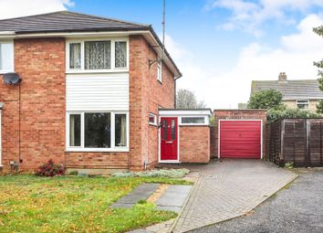 Thumbnail 3 bed semi-detached house for sale in Elmore Road, Longthorpe, Peterborough
