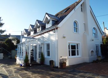 Thumbnail 4 bed detached house for sale in Capel Isaac House, Blue Anchor Road, Penclawdd, Swansea