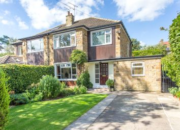 Thumbnail 4 bed semi-detached house for sale in Avenue Victoria, Leeds, West Yorkshire