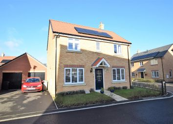 Thumbnail 3 bed detached house for sale in The Courtyard, Main Road, Barleythorpe, Oakham