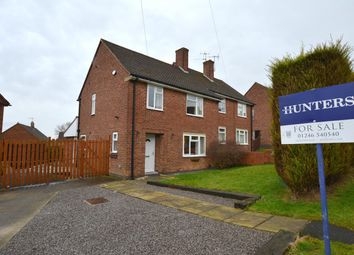 Thumbnail 3 bed semi-detached house for sale in Newby Road, Chesterfield