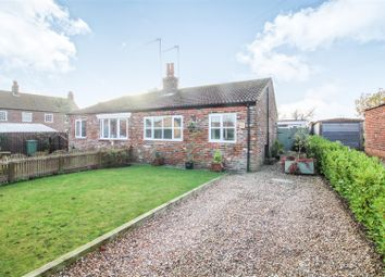 Thumbnail 2 bed semi-detached bungalow for sale in Crossgates, Harpham, Driffield