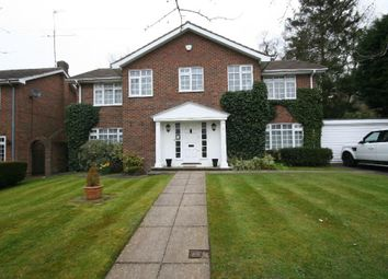Thumbnail 4 bed property to rent in Regents Close, Radlett