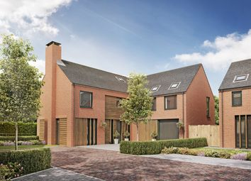 Thumbnail 5 bedroom detached house for sale in Culcheth Hall Drive, Culcheth, Warrington
