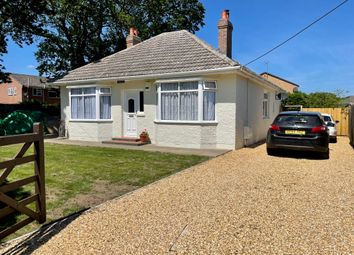 Thumbnail 3 bed detached bungalow for sale in Lea Road, Blackfield, Southampton
