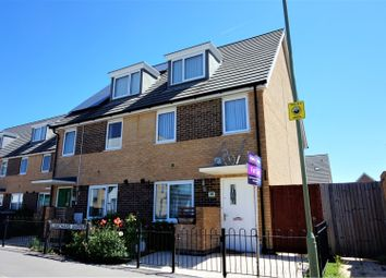 Thumbnail 3 bed town house for sale in Blanchard Avenue, Gosport