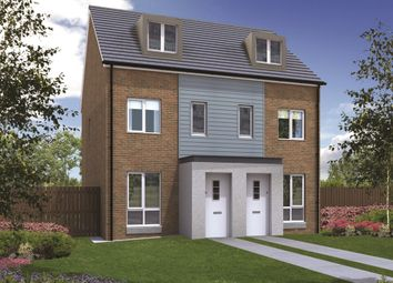 "Thumbnail 3 bedroom terraced house for sale in ""The Souter"" at Greatham Avenue, Stockton-On-Tees"
