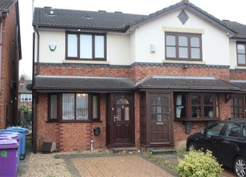 Thumbnail 2 bed town house for sale in Douglas Close, Tynwald Hill, Liverpool, Merseyside