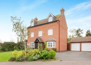 Thumbnail 5 bedroom detached house for sale in St. Louis Close, Hinckley