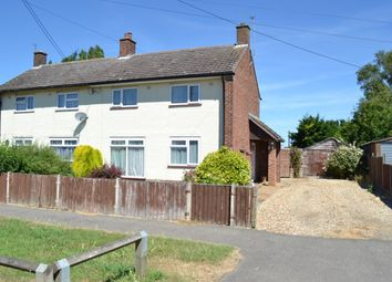 Thumbnail 2 bed semi-detached house for sale in Britton Close, Watlington, King's Lynn