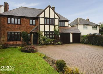 Thumbnail 5 bed detached house for sale in Sapcote Road, Burbage, Hinckley, Leicestershire
