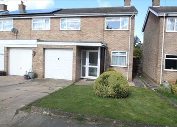 Thumbnail 3 bed semi-detached house to rent in Epsom Drive, Ipswich