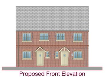 Thumbnail 3 bed semi-detached house for sale in Brant Road, Waddington