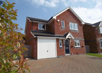 Thumbnail 4 bed detached house for sale in Cysgod Y Castell, Llandudno Junction
