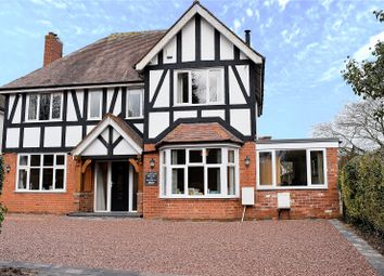 Thumbnail 4 bed detached house for sale in Old Coach Road, Droitwich Spa