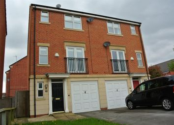 Thumbnail 3 bed semi-detached house to rent in Ivyleaf Way, Littleover, Derby
